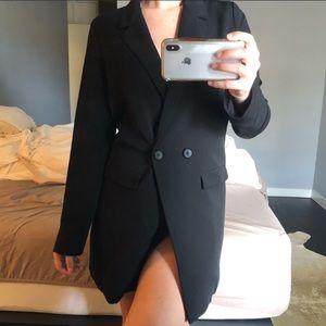 TOBI long blazer size small